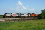 Northbound KCS Manifest Train
